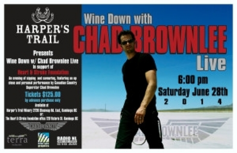 WINE DOWN 2014 with CHAD BROWNLEE LIVE,