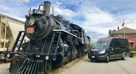 Hands UP! Trains & Trails,