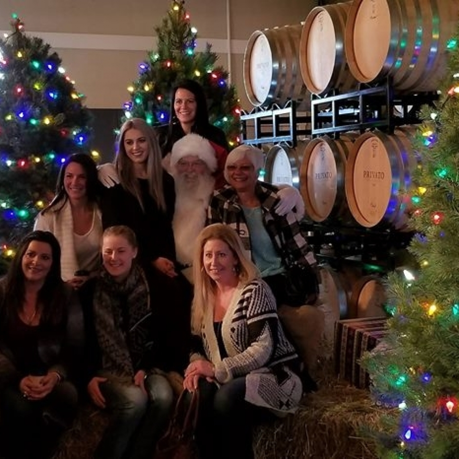 Holiday Open House Kamloops Wine Trail Tour,