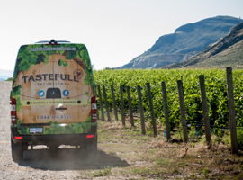 Wine and Brew tours in the Thompson Okanagan plus Premium transportation at Tastefull Excursions Kamloops